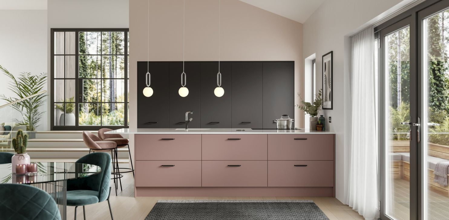 Gallery Alta Dusk Pink Anthracite