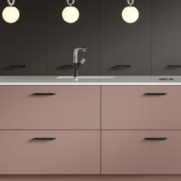 Gallery Alta Dusk Pink Anthracite detail
